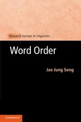 Word Order | Jae Jung Song |