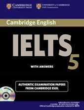 Cambridge Ielts 5 Self-Study Pack (Self-Study Student's Book and Audio CDs (2)) China Edition