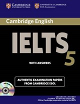 Cambridge Ielts 5 Self-Study Pack (Self-Study Student's Book and Audio CDs (2)) China Edition | Cambridge Esol |