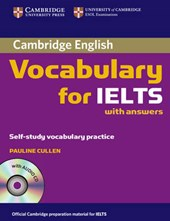 Cambridge Vocabulary for Ielts Book with Answers and Audio CD [With CD] | Pauline Cullen |
