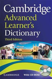 Cambridge Advanced Learner's Dictionary [With CDROM]