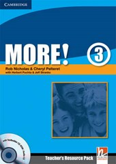 More! 3 Teacher's Resource Pack [With CDROM] | Rob; Nicholas |