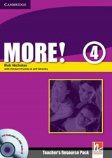More! 4 Teacher's Resource Pack [With CDROM] | Rob Nicholas |