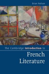 Cambridge Introduction to French Literature | Brian Nelson |