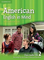 American English in Mind Level 2 Class Audio CDs (3)