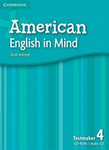 American English in Mind Level 4 Testmaker Audio CD [With CDROM] | Sarah Ackroyd |