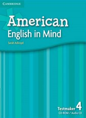 American English in Mind Level 4 Testmaker Audio CD [With CDROM]