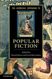 Cambridge Companion to Popular Fiction | David Glover |