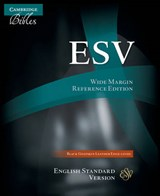 Wide Margin Reference Bible-ESV | auteur onbekend |