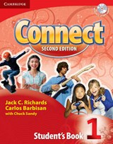 Connect 1 [With CD (Audio)] | Richards, Jack C.; Barbisan, Carlos |