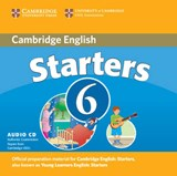 Cambridge Young Learners English Tests 6 Starters Audio CD | Cambridge Esol |