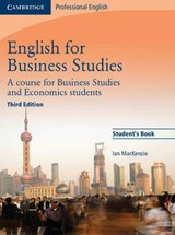 English for Business Studies Student's Book | Ian MacKenzie |