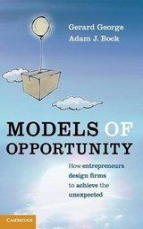 Models of Opportunity | Gerard George |