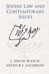 Jewish Law and Contemporary Issues | J. David Bleich |