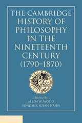 The Cambridge History of Philosophy in the Nineteenth Century (1790-1870) | auteur onbekend |