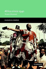Africa Since | Frederick Cooper |