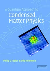 Quantum Approach to Condensed Matter Physics