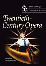 Cambridge Companion to Twentieth-Century Opera | COOKE,  Mervyn |