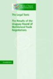 The Legal Texts | World Trade Organization |