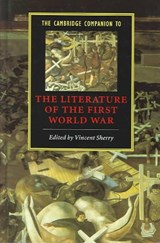 The Cambridge Companion To The Literature Of The First World War | auteur onbekend |
