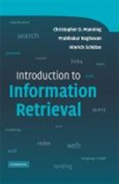 Introduction to Information Retrieval | Christopher D. Manning |