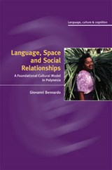 Language, Space, and Social Relationships | Giovanni Bennardo |