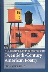 Cambridge Introduction to Twentieth-Century American Poetry