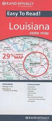 Rand McNally Easy to Read! Louisiana