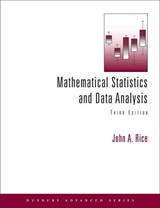 Mathematical Statistics and Data Analysis [With CDROM] | John A. Rice |