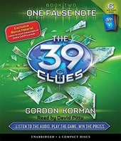 The One False Note (the 39 Clues, Book 2) [With 6 New Cards]