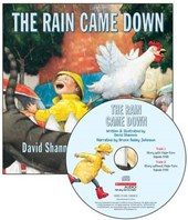 The Rain Came Down [With Paperback Book]