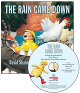 The Rain Came Down [With Paperback Book] | David Shannon |