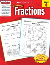 Scholastic Success with Fractions, Grade
