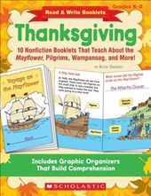 Read & Write Booklets Thanksgiving Grades K-2