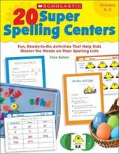 20 Super Spelling Centers