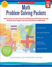 Math Problem-Solving Packets, Grade