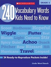 240 Vocabulary Words Kids Need to Know | Mela Ottaiano |