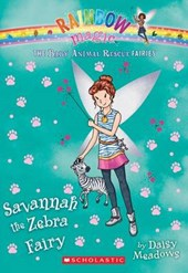 Savannah the Zebra Fairy