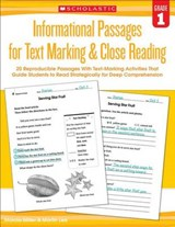 Informational Passages for Text Marking & Close Reading, Grade 1 | Miller, Marcia ; Lee, Martin |