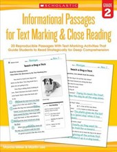 Informational Passages for Text Marking & Close Reading, Grade | Miller, Marcia ; Lee, Martin |