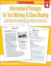 Informational Passages for Text Marking & Close Reading: Grade
