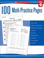 100 Math Practice Pages, Grade