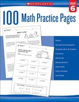 100 Math Practice Pages (Grade 6) |  |