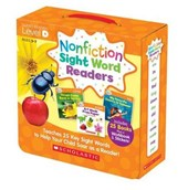 Nonfiction Sight Word Readers Level D, Ages 3-7