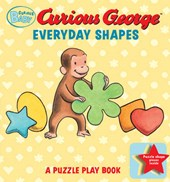 Curious George Everyday Shapes Puzzle Play Book