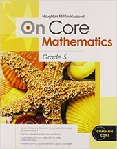On Core Mathematics, Grade 5 [With Workbook]