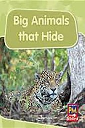 Big Animals That Hide Leveled Reader Grade 1