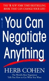 You Can Negotiate Anything | Herb Cohen |