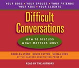 Difficult Conversations | Douglas Stone |