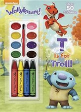 T Is for Troll! (Wallykazam!) | Golden Books |